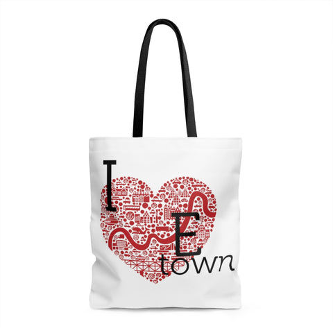 I heart Etown Tote bag - Bags - Snow Alligator by Jason Blower