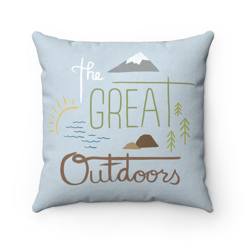 The Great Outdoors - Pillow - Home Decor - Snow Alligator by Jason Blower