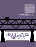 High Level Bridge - Model Kit - Toy - Snow Alligator by Jason Blower