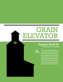 Grain Elevator - Model Kit - Toy - Snow Alligator by Jason Blower