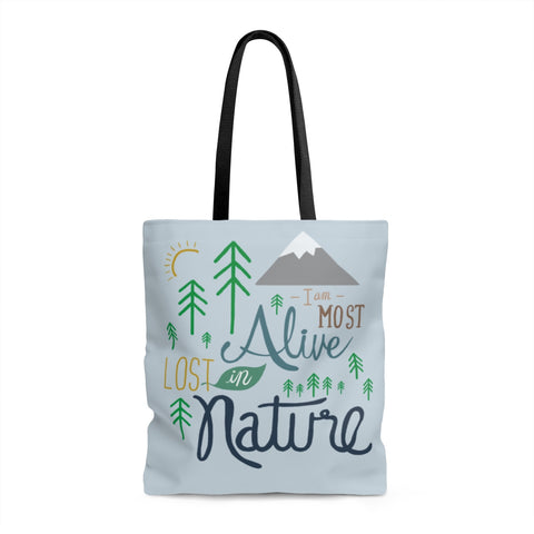 Lost in Nature - Tote bag - Bags - Snow Alligator by Jason Blower