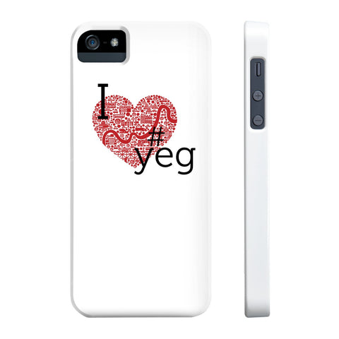 I heart YEG - Slim Iphone 5/5s/5se - Phone Case - Snow Alligator by Jason Blower