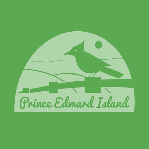 Provincial - Prince Edward Island - Art Print - Snow Alligator by Jason Blower