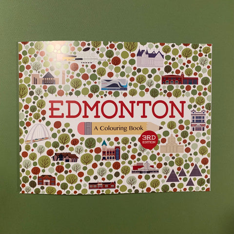 Edmonton: A Colouring Book