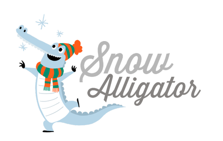 Snow Alligator