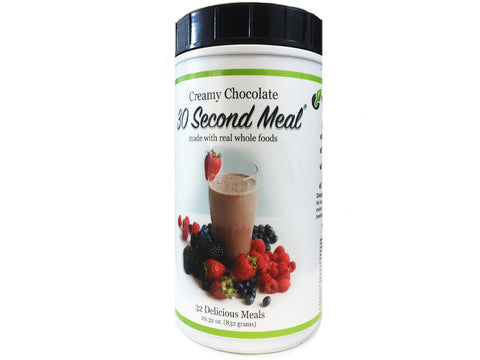 Creamy 30-Second Meals: Chocolate & Vanilla