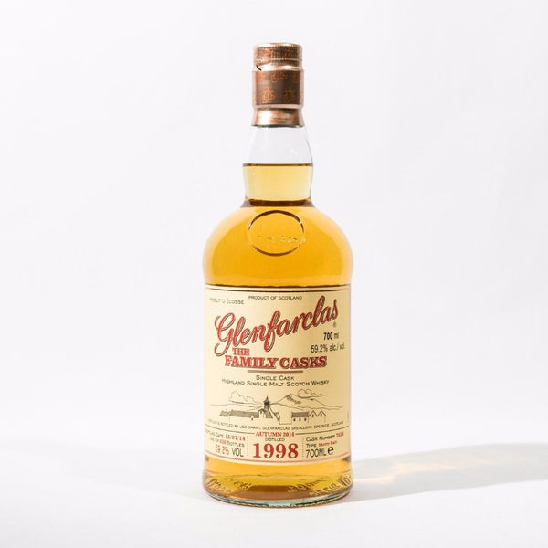 Glenfarclas Family Cask 1998 Sherry Butt Cask No. 7637