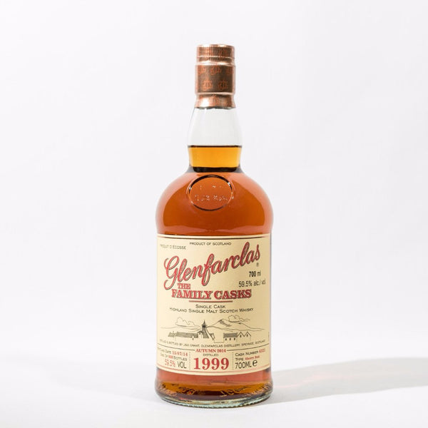 Glenfarclas Family Cask 1999 Sherry Butt Cask No. 6321