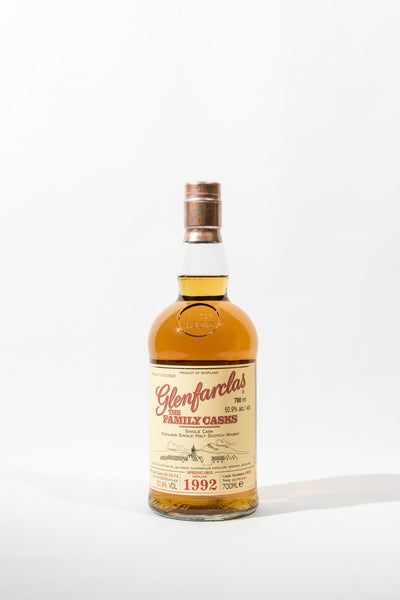 Glenfarclas Family Cask 1992 Sherry Butt Cask No. 5850