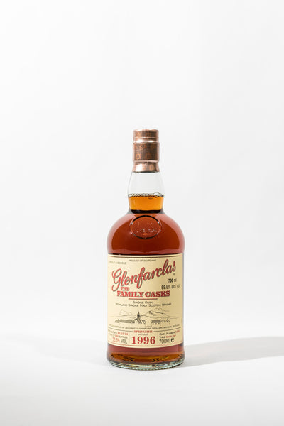 Glenfarclas Family Cask 1996 Sherry Butt Cask No. 1493