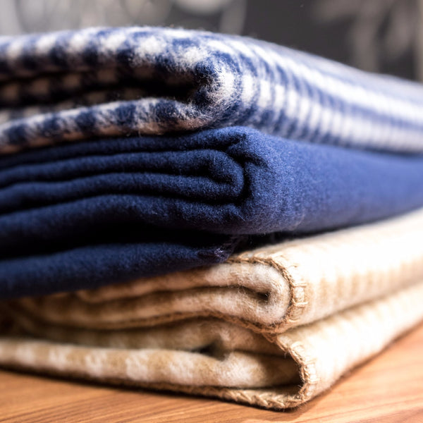 Woolrich Double-Face 100% Soft Wool Blanket