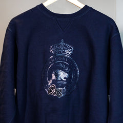 VC Original '1893' Beaver Crest 'Navy on Navy' Sweatshirt