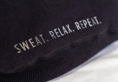 "VC ""Sweat. Relax. Repeat."" Black Hoodie"