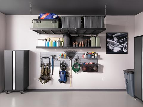 Pro series wall mounted Steel Shelves