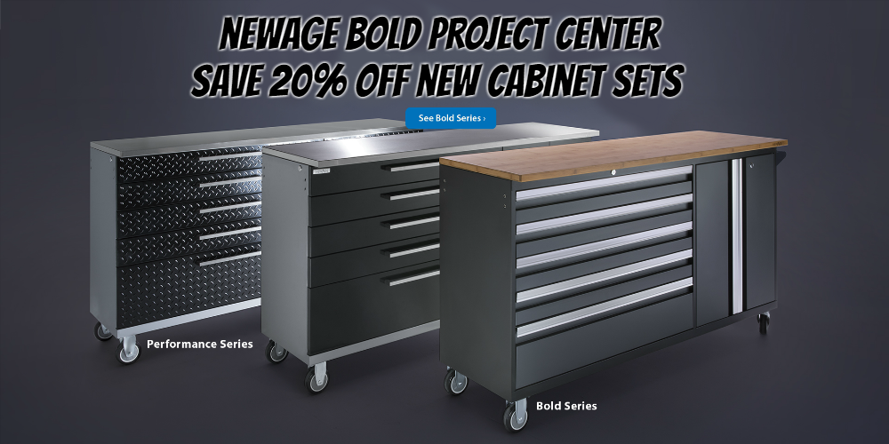 NewAge Project Center cabinet sets