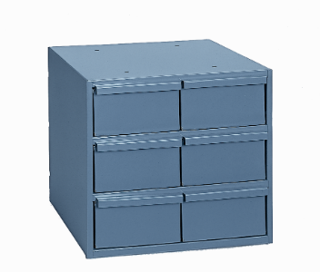 Model 001-95 Six Drawer Parts Cabinet - ShopStorageCabinets.com