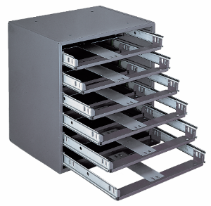 Model 308-95 Rack for 6 Small Compartment Boxes - ShopStorageCabinets.com