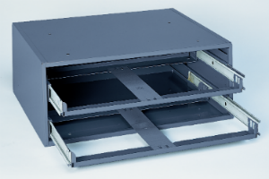 Model 302-95 Rack for 2 Large Compartment Boxes - ShopStorageCabinets.com