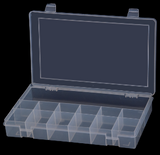 Model SP13-CLEAR Small 13 Compartment Box - ShopStorageCabinets.com