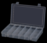 Model SP18-CLEAR Plastic 18 Compartment Box