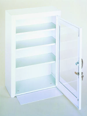 Model 518-43-PD Medicine Cabinet w/Plexiglass Door - ShopStorageCabinets.com