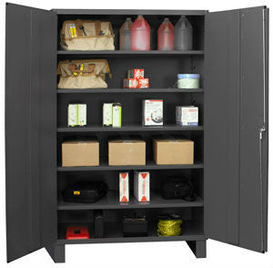 48x24x78 HD 14 Gauge Locker w/Feet and 5 Shelves - ShopStorageCabinets.com