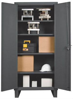 36x24x78 HD 14 Gauge Locker w/Feet and 4 Shelves - ShopStorageCabinets.com