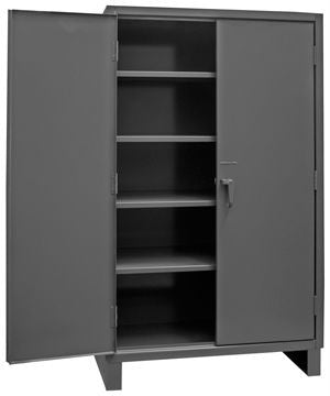 48x24x78 HD 14 Gauge Locker w/Leaf Hinges and 4 Shelves - ShopStorageCabinets.com