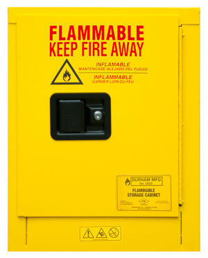 4 Gallon Manual Closing Flammable Safety Cabinet Model 1004M-50 - ShopStorageCabinets.com
