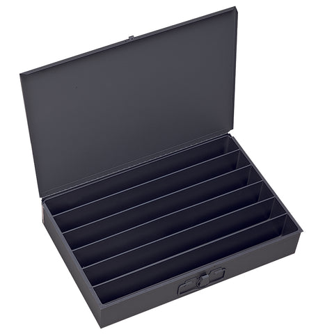 Model 125-95 Large 6 Horizontal Compartment Box - ShopStorageCabinets.com