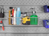 Slatwall Backsplash 12 piece Accessory Kit - ShopStorageCabinets.com