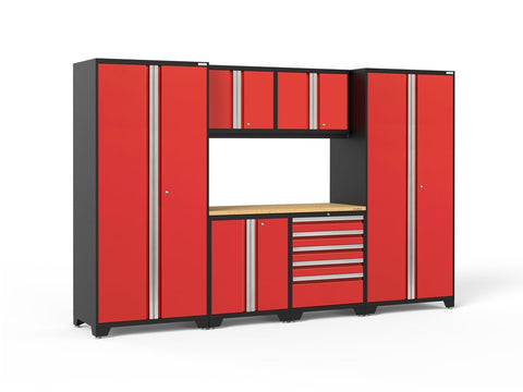 NewAge Pro Series 7 piece garage cabinet set - ShopStorageCabinets.com