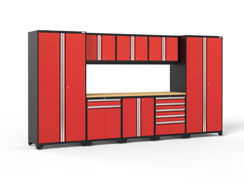 NewAge Pro Series 9 piece garage cabinet set - ShopStorageCabinets.com