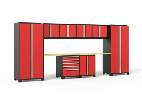 NewAge Pro Series 10 piece garage cabinet set - ShopStorageCabinets.com
