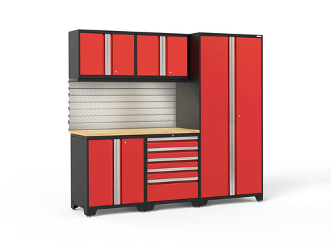 NewAge Pro Series 6 piece garage cabinet set - ShopStorageCabinets.com