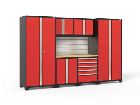 NewAge Pro 3.0 series 7 piece garage cabinet set - ShopStorageCabinets.com