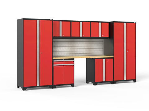 NewAge Pro Series 8 piece garage cabinet set - ShopStorageCabinets.com