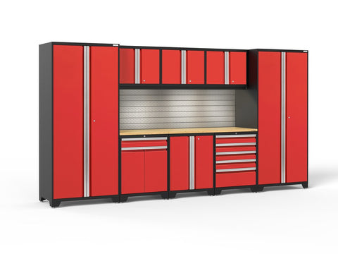 NewAge Pro 3.0 series 9 piece garage cabinet set - ShopStorageCabinets.com