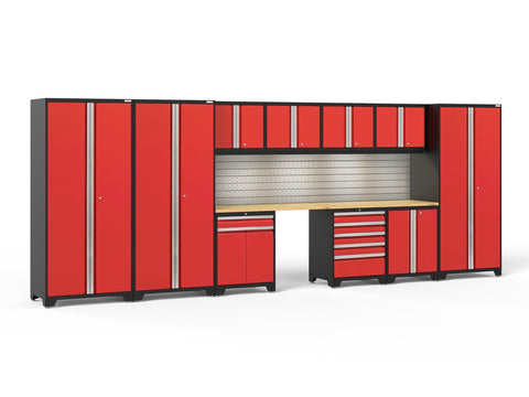 NewAge Pro Series 12 piece garage cabinet set - ShopStorageCabinets.com
