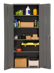 36x24x84 HD 16 Gauge Locker w/4 Shelves - ShopStorageCabinets.com