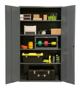 48x24x72 HD 16 Gauge Locker w/4 Shelves - ShopStorageCabinets.com