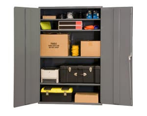 48x24x84 HD 16 Gauge Locker w/4 Shelves - ShopStorageCabinets.com