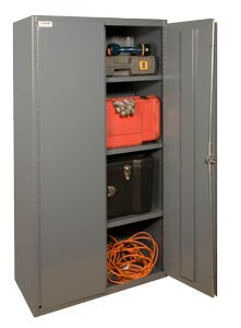 36x18x60 HD 16 Gauge Locker w/3 Shelves - ShopStorageCabinets.com