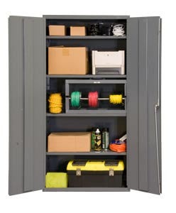 36x18x72 HD 16 Gauge Locker w/4 Shelves - ShopStorageCabinets.com
