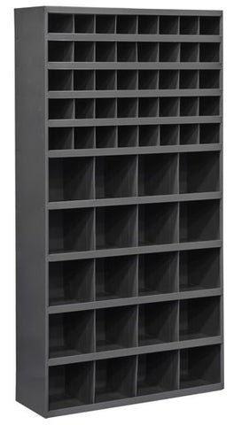 Model 730-95 12 inch Deep 60 Bin Tall Cabinet