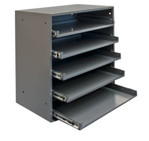 Model 305B-95 Rack for 5 Large Compartment Boxes - ShopStorageCabinets.com