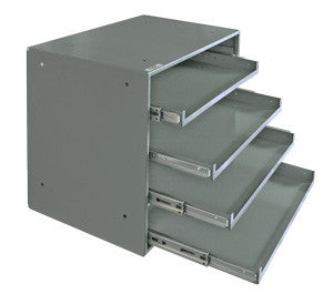 Model 310B-95 Rack for 4 Large Compartment Boxes - ShopStorageCabinets.com