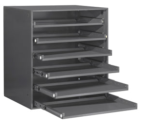 Model 321B-95 Ball Bearing Rack for 6 Large Compartment Boxes - ShopStorageCabinets.com