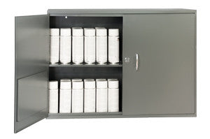 "Model 060-95-WSS  Slotted Shelf Cabinet 33-3/4"" W by 23-7/8"" H and 11-7/8"" D - ShopStorageCabinets.com"