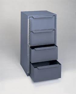 Model 610-95 Four Drawer Work Van Cabinet - ShopStorageCabinets.com